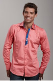 Recess Sunset Shirt L Fuchsia