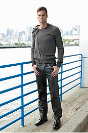 Brooklyn Hoodie & Andres Velasco® Nicholas Leather Jean
