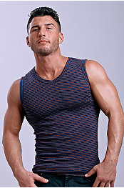 Jocko® Stripe V-Neck Tank