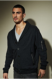 Seduka® Wretch Fleece Cardigan