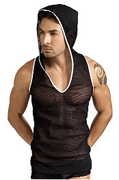 Clever® Irreverent Sleeveless Hoodie