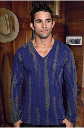 Pistol Pete® Ripple LS V-Neck