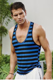 YMLA® Stripe Y-Back Tank