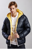 Soul Star® Reversible Puffer Jacket