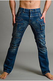 Young Republic® Double Waist Blue Jean