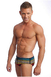 LASC® Stripe Swim Brief