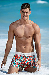 P.O.V.® Pinwheel Swim Trunk