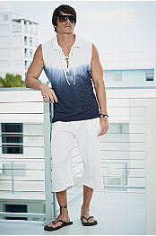 ANDRES VELASCO® TORINO SLEEVELESS TUNIC & BODY TECH® AERO CAPRI