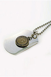 Amigaz® St. Christopher Dogtag Necklace