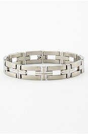 Crossing Stainless Bracelet