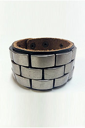 Smash® Leather Cuff
