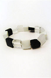 Rave® Retro B*Ch Glass Beads Bracelet