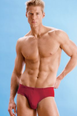 Ribbed Cotton Contour � Brief