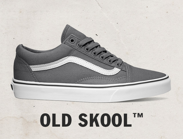 Vans Gray And Brown