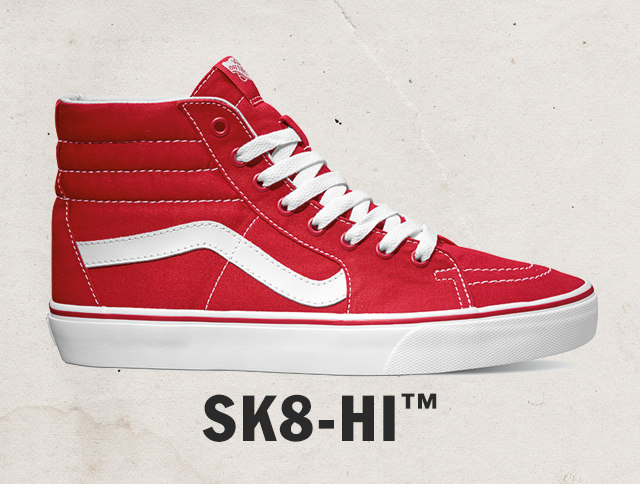 Vans High Tops Red