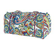 Small Duffel in Marina Paisley