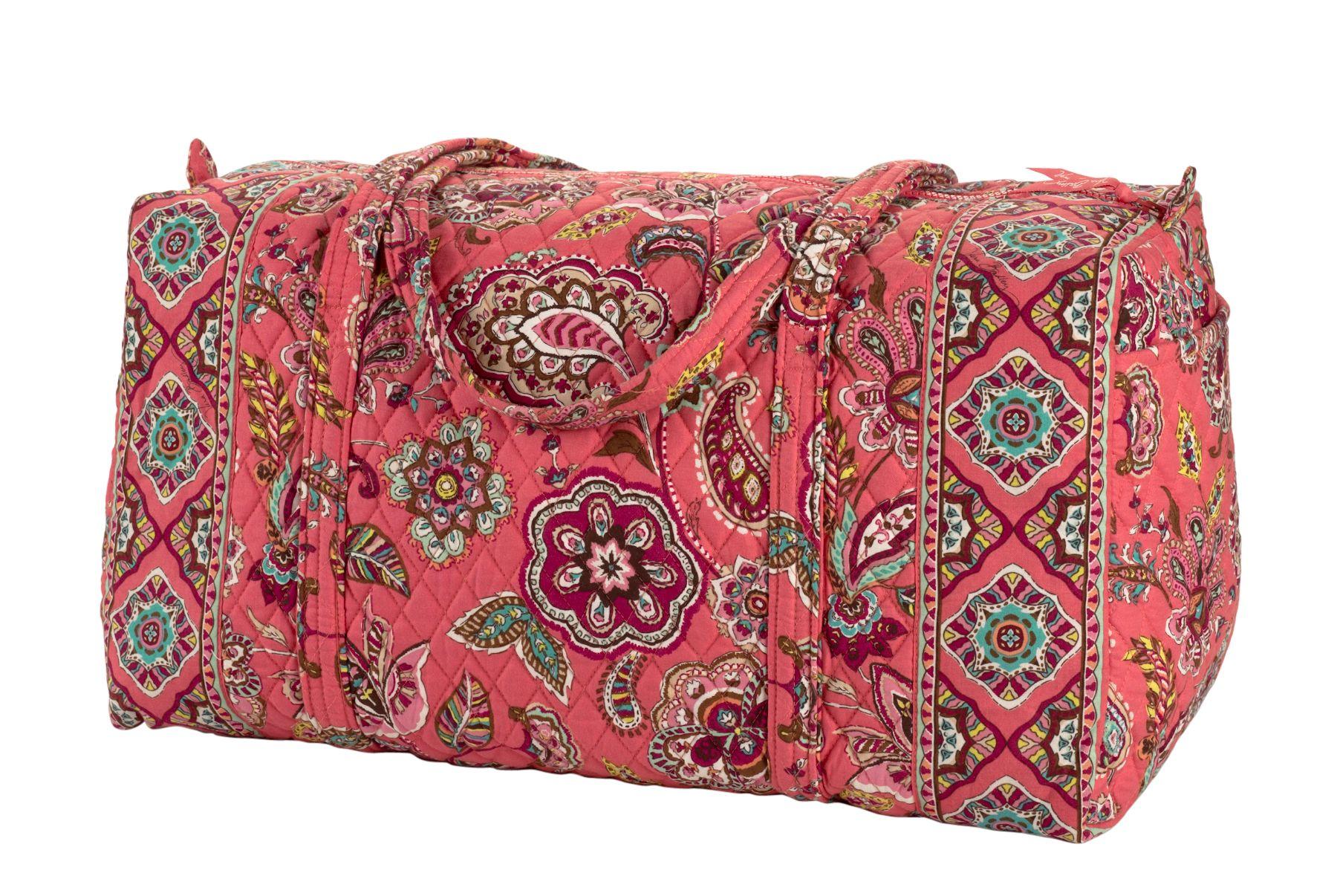 Vera Bradley Large Duffel Travel Bag   EBay