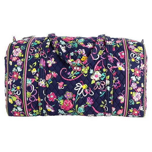 Large Duffel in Ribbons