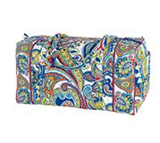 Large Duffel in Marina Paisley