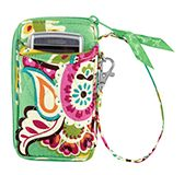 All in One Wristlet in Tutti Frutti