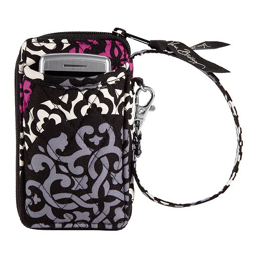 All in One Wristlet in Canterberry Magenta