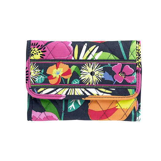 Euro Wallet in Jazzy Blooms