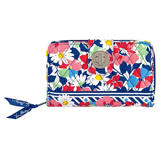 Turn Lock Wallet in Summer Cottage