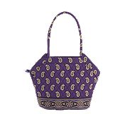 Angle Tote in Simply Violet