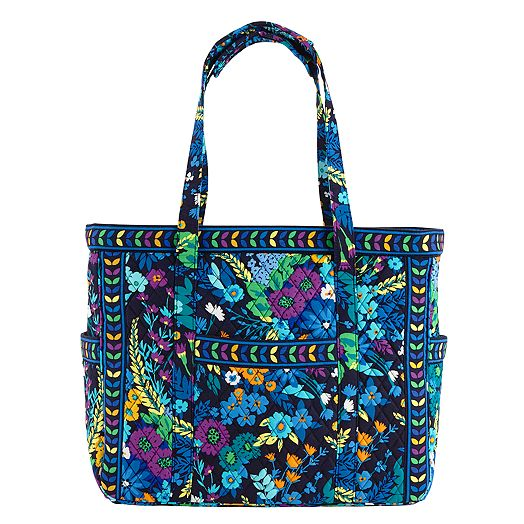 Get Carried Away Tote in Midnight Blues