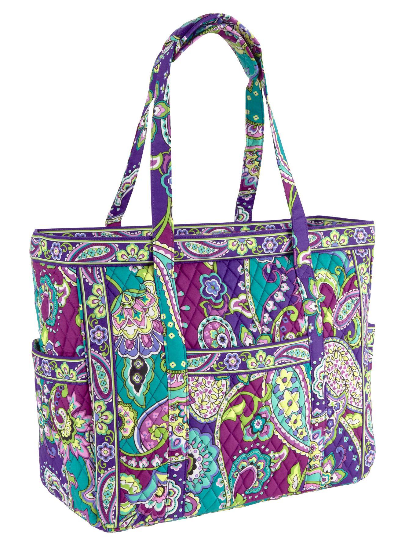 vera bradley get carried away tote bag travel bag martlocal. Black Bedroom Furniture Sets. Home Design Ideas