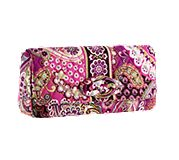 Knot Just a Clutch in Very Berry Paisley