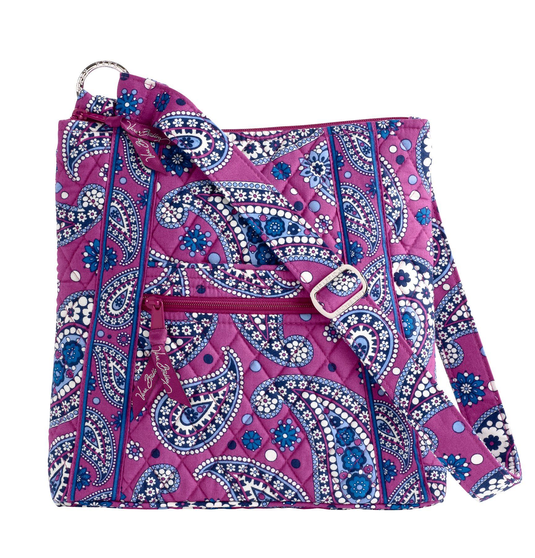 vera bradley purple purse | eBay