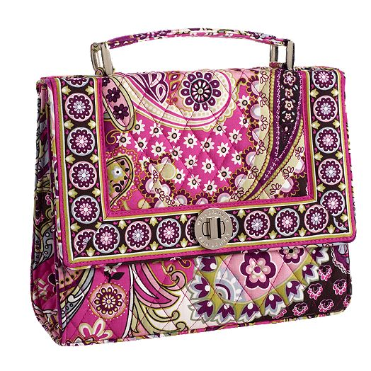Julia Handbag in Very Berry Paisley