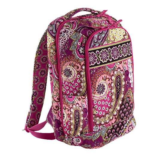 Laptop Backpack in Very Berry Paisley