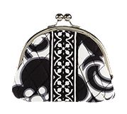 Double Kiss Coin Purse in Night and Day