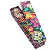 Pencil Box in Jazzy Blooms
