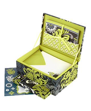 Mail Box Stationery Desk Set