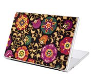 Under Cover Laptop Skin in Suzani