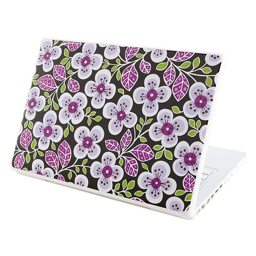 Under Cover Laptop Skin in Plum Petals