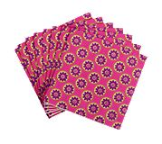 Cocktail Napkins in Very Berry Paisley