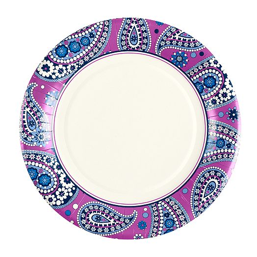 Dinner Plates in Boysenberry