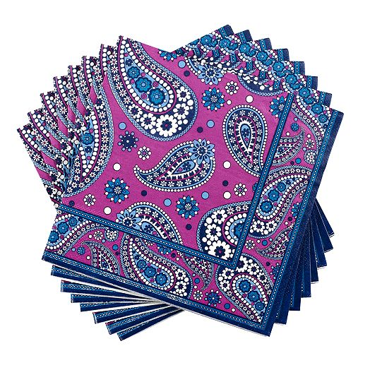 Luncheon Napkins in Boysenberry