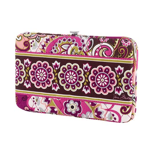 Opera Wallet in Very Berry Paisley
