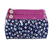 Twice as Nice Cosmetic Clutch in Boysenberry