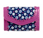 Penny Wise Wallet in Boysenberry