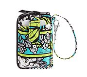 Carry It All Wristlet in Island Blooms