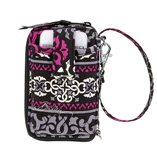 Carry It All Wristlet in Canterberry Magenta