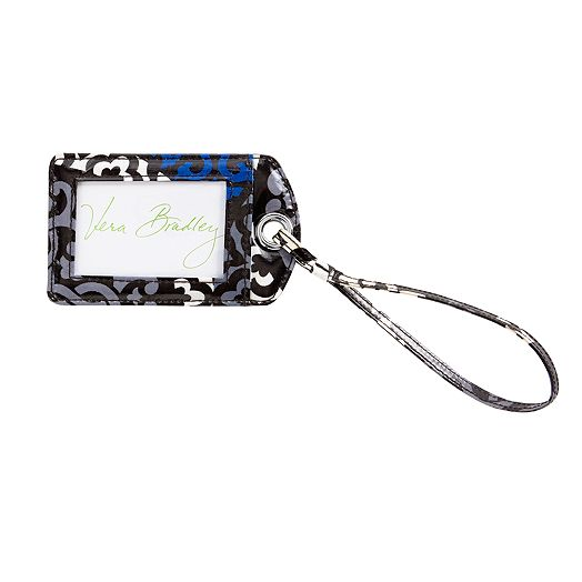 Luggage Tag in Canterberry Cobalt