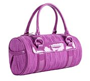 Barrel Bag in Lilac Nylon