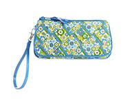 Criss Cross Wristlet in English Meadow